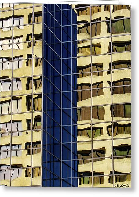 Reflecting Architecture  Greeting Card