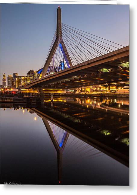 Reflecting On Zakim Greeting Card