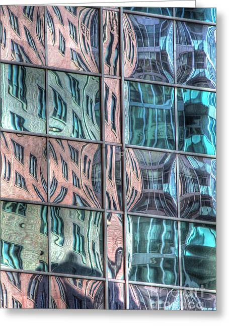 Reflection 19 Greeting Card by Jim Wright