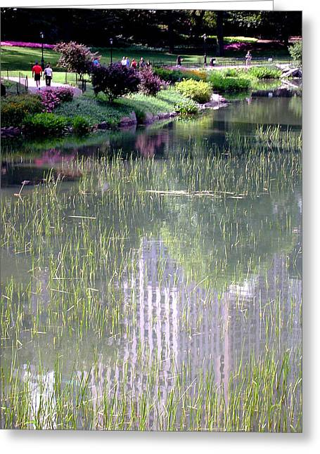 Reflection And Movement Greeting Card
