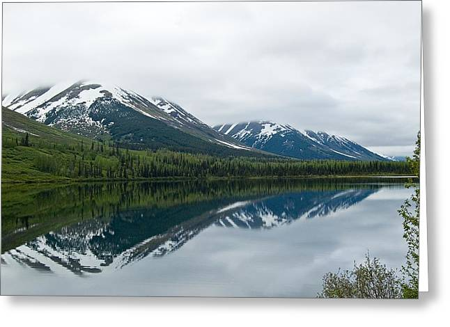Reflection Montana  Greeting Card
