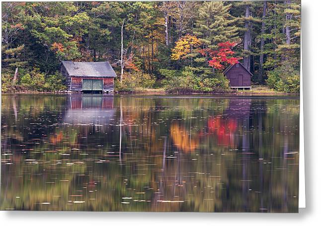 Reflection Greeting Card by Jean-Pierre Ducondi