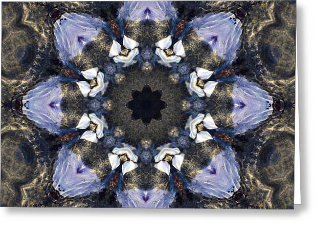 Reflection - Kaleidoscope Art Greeting Card