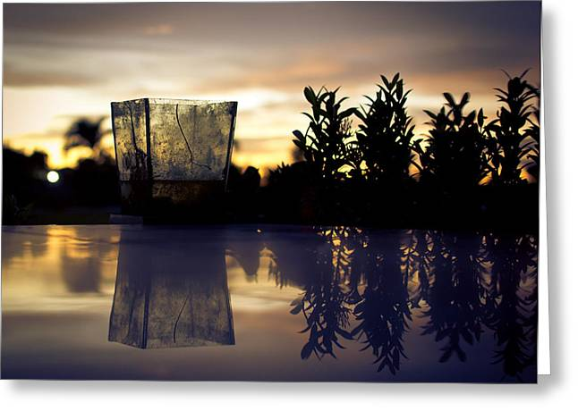 Reflection Greeting Card by Kingsley  Gicalde