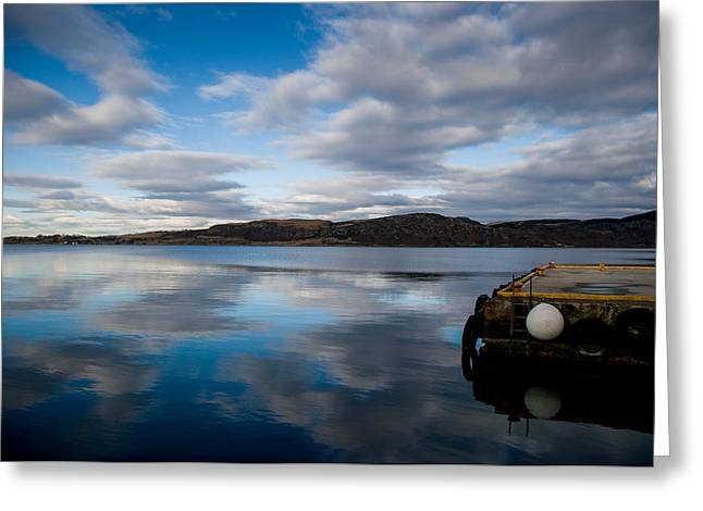 Reflection Greeting Card by Mirra Photography