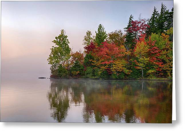 Reflection Of Trees On Water, Seventh Greeting Card