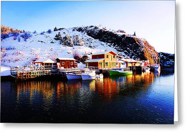 Reflection On Quidi Vidi Lake Greeting Card