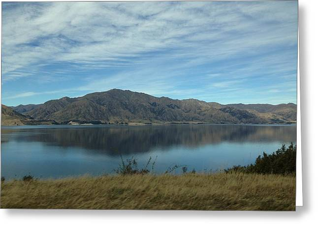 Reflection Greeting Card by Ron Torborg