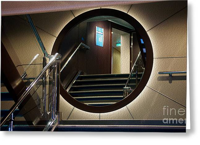 Reflection Stair Greeting Card