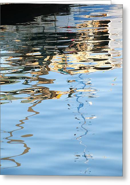 Reflections - White Greeting Card