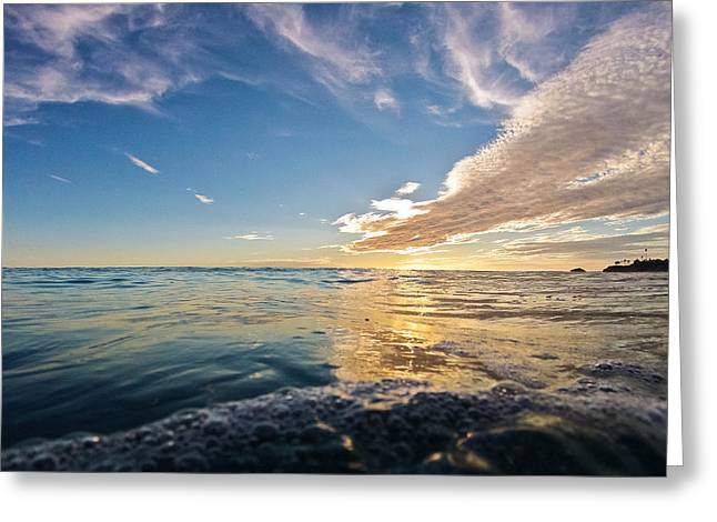 Reflections Greeting Card by Andrew Raby