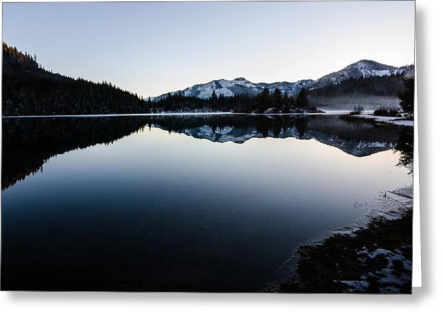 Reflections At Gold Creek Pond Greeting Card by Brian Xavier