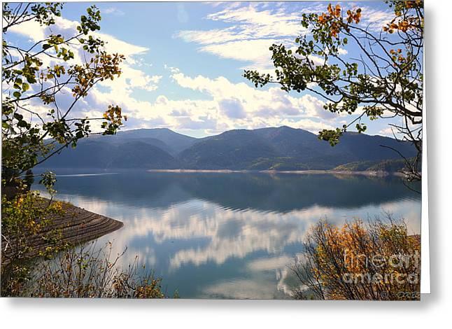 Reflections At Palisades Greeting Card