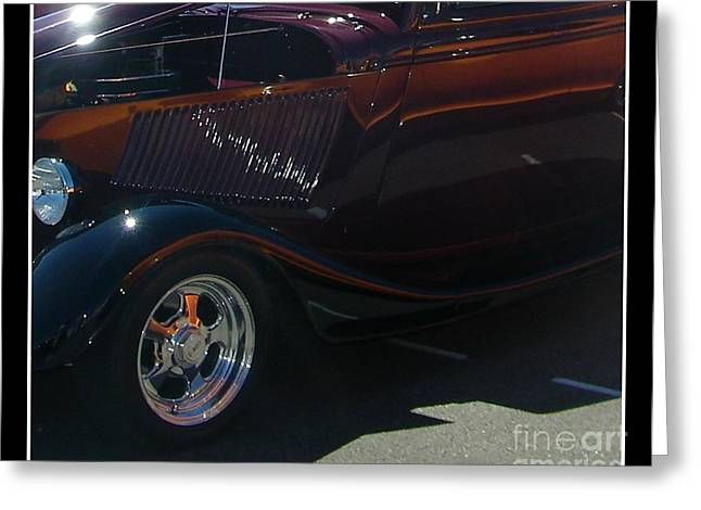Greeting Card featuring the photograph Reflections by Bobbee Rickard