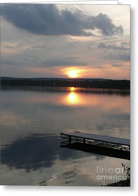 Reflections Greeting Card by Brenda Ketch