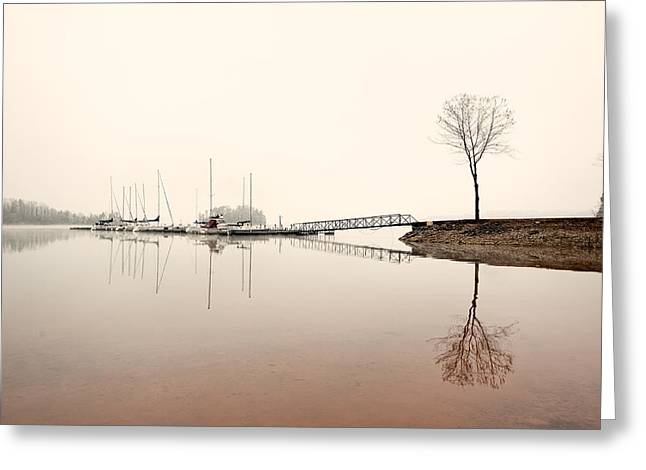 Reflections Greeting Card by Brent Craft