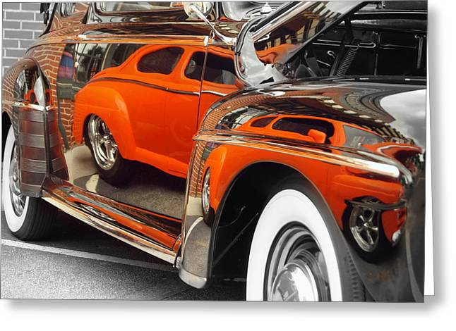 Reflections Greeting Card by Chris Fraser
