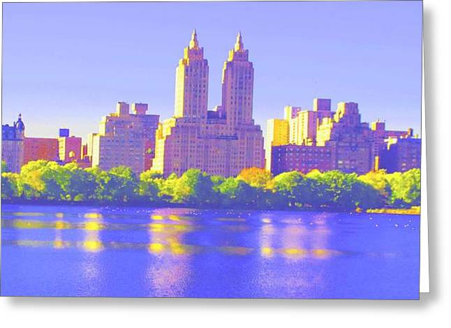 Reflections Greeting Card by Dan Hilsenrath