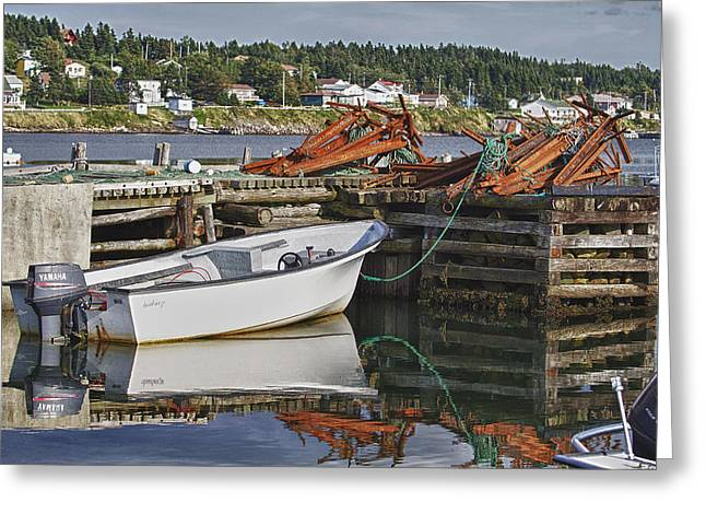 Greeting Card featuring the photograph Reflections by Eunice Gibb