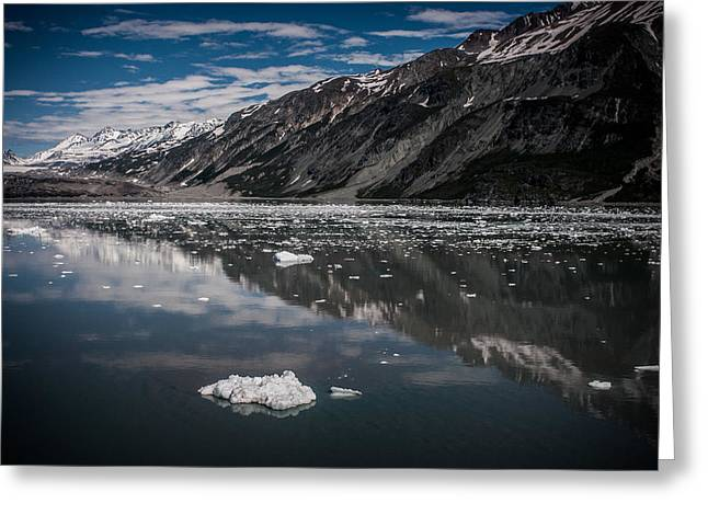 Reflections Of Alaska Greeting Card by Dayne Reast