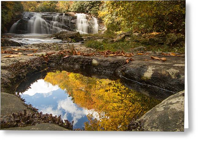 Reflections Of Fall Greeting Card by Doug McPherson