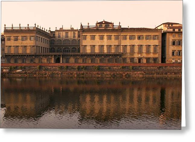 Greeting Card featuring the photograph Reflections Of Grandeur by Sandy Molinaro