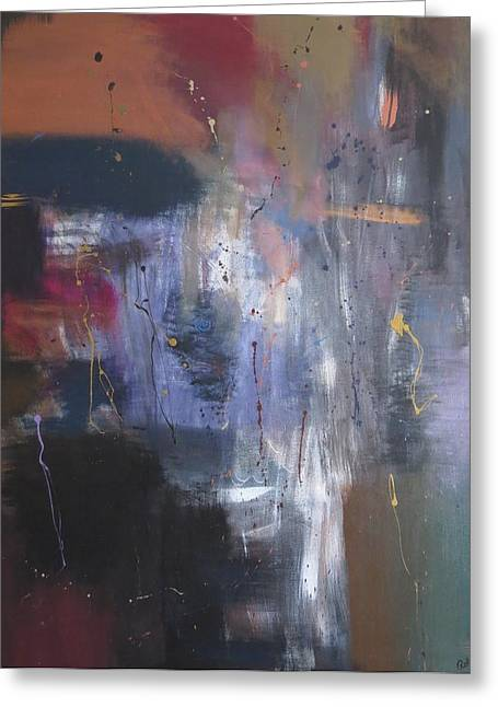 Reflections Of Me Greeting Card by Robyn Punko