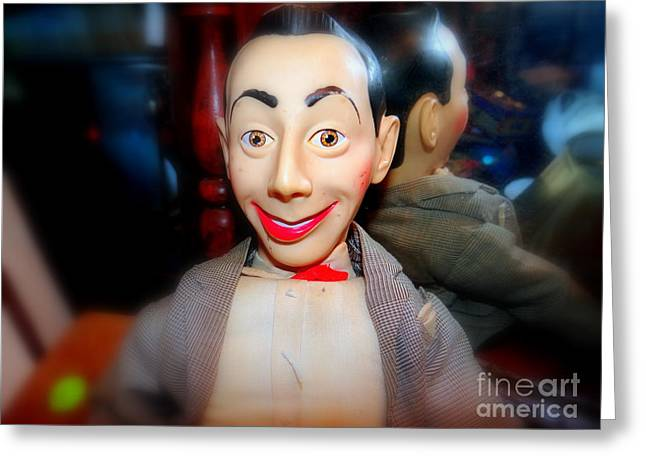 Reflections Of Pee Wee Greeting Card by Ed Weidman