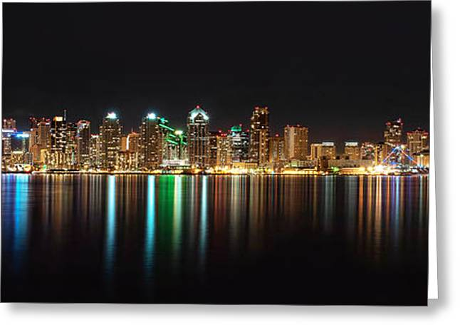 Reflections Of San Diego Greeting Card