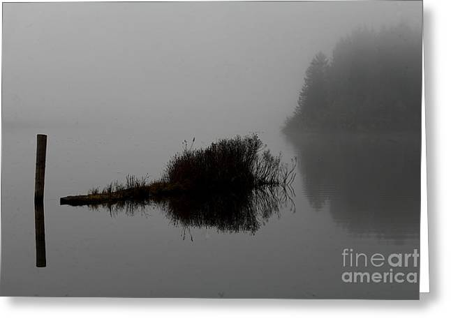 Reflections On A Lake Greeting Card