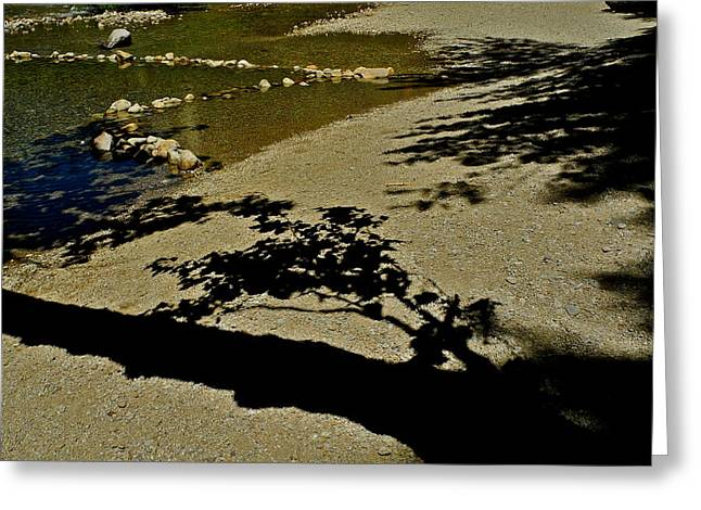 Reflections On A River Greeting Card by Kirsten Giving