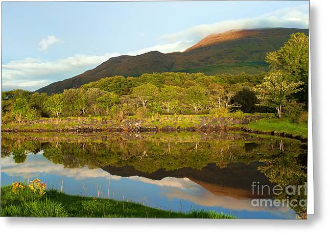 Reflections On Loch Etive Greeting Card
