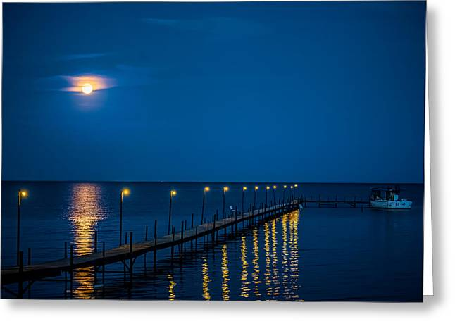 Reflections On Milacs Greeting Card by Paul Freidlund