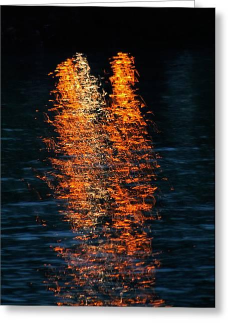 Reflections Greeting Card by Pamela Walton