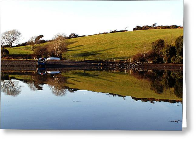 Reflections Greeting Card by Phil Darby