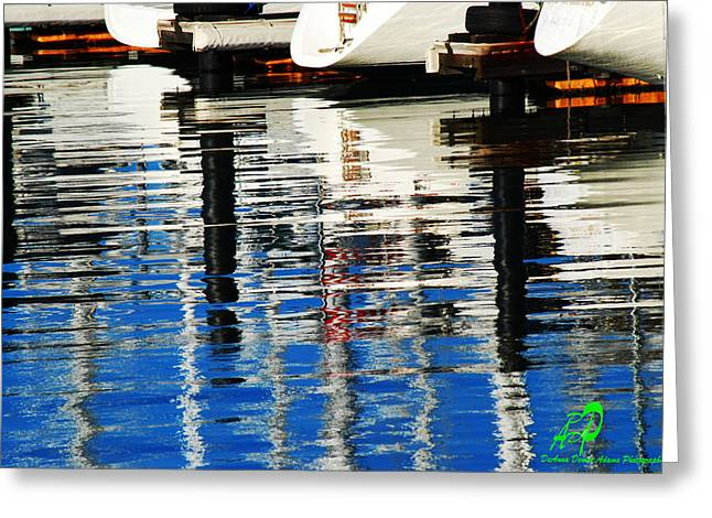 Reflections Sausalito California Greeting Card