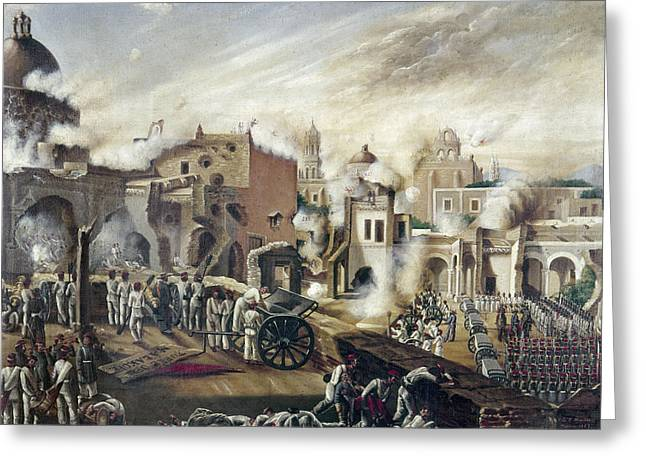 Reform War Guadalajara Greeting Card by Granger