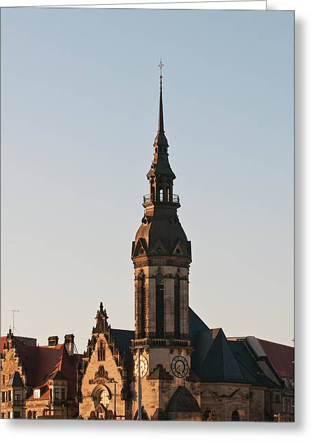 Reformed Church (evanglisch Reformierte Greeting Card by Michael Defreitas