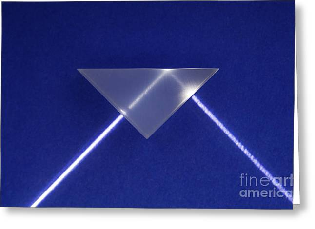 Refraction And Internal Reflection, 2 Greeting Card by GIPhotoStock