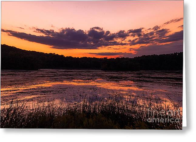 Refractions Greeting Card by Jason Naudi Photography