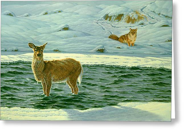 Refuge Greeting Card by Paul Krapf