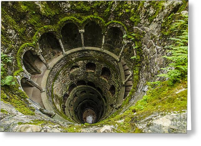 Regaleira Initiation Well 1 Greeting Card
