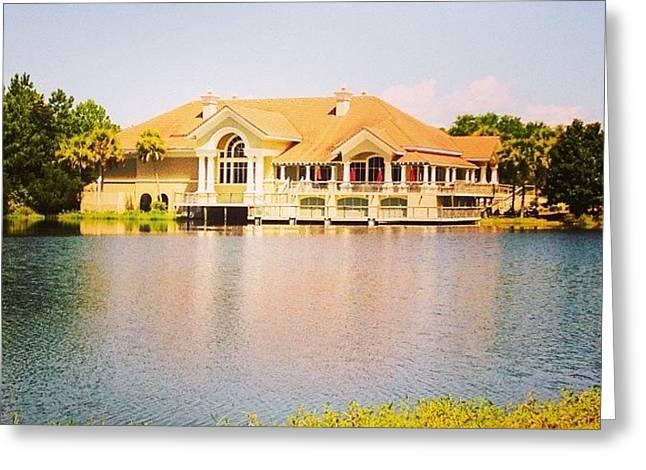 Regatta Bay #golf #destin #iphone5 Greeting Card