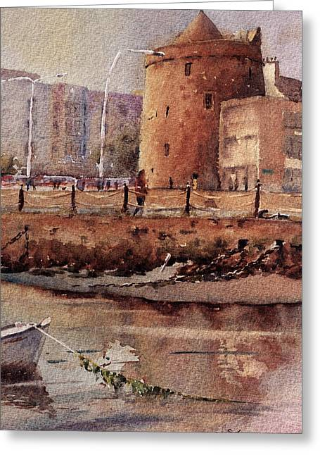 Reginalds Tower Waterford Greeting Card by Keith Thompson