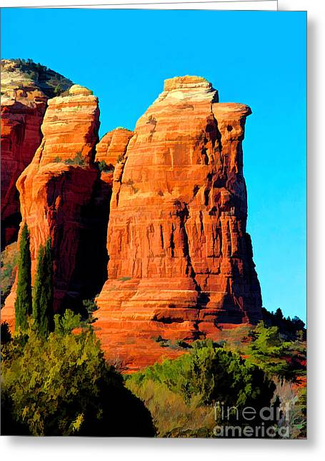 Regular Or Decaf? Greeting Card by Jon Burch Photography