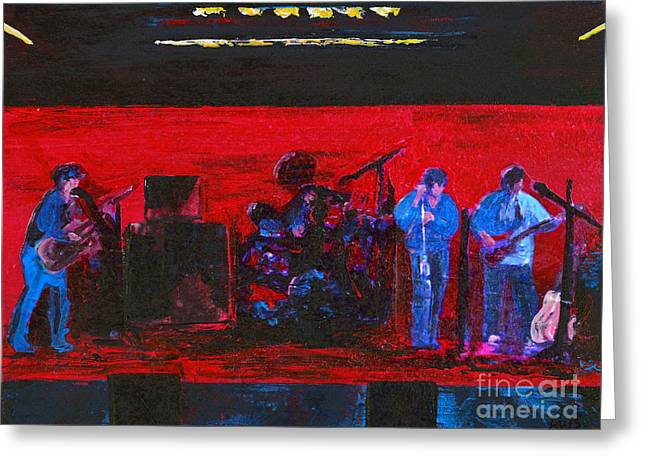 Rehearsal Greeting Card by Alys Caviness-Gober