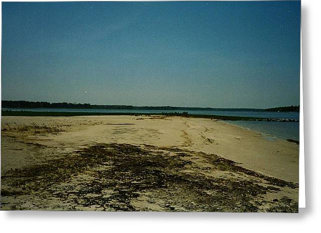 Greeting Card featuring the photograph Rehoboth Bay Beach by Amazing Photographs AKA Christian Wilson