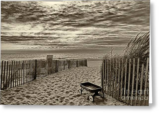 Rehoboth Beach De 21 Greeting Card by Jack Paolini