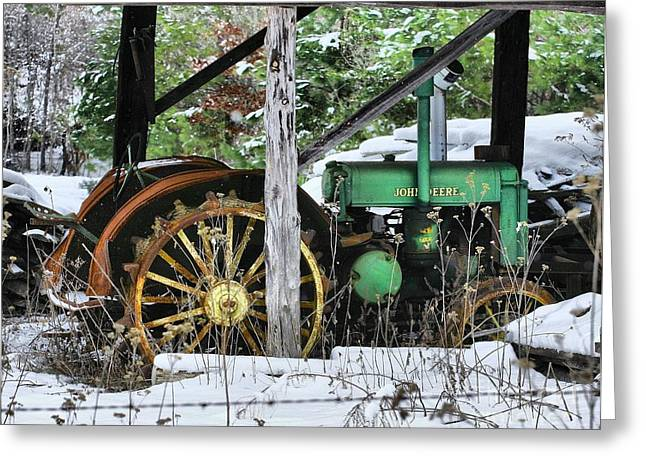 Rein Deere Greeting Card