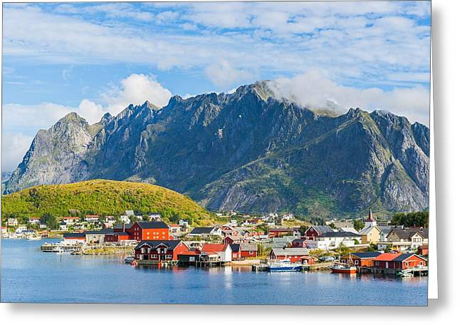 Reine In Lofoten Greeting Card